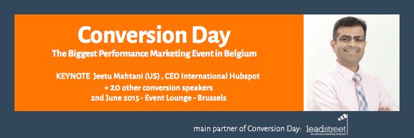 conversion-day-2015-leadstreet-invites-Jeetu-Mathani-CEO-HubSpot-to-Belgium