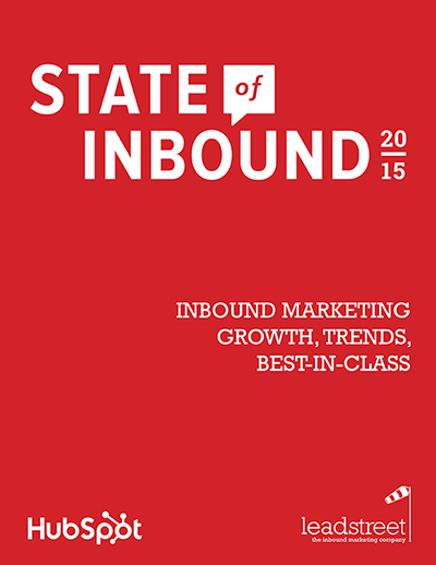 State of Inbound 2015 leadstreet