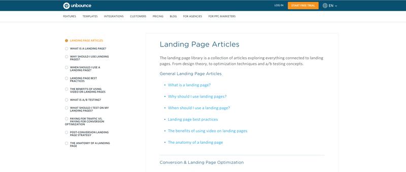 voorbeelden-content-pillar-pages-unbounce-landing-page