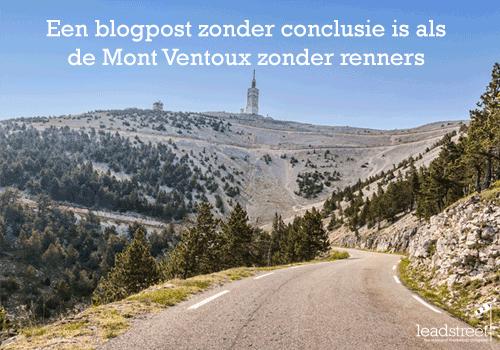 Hoe een blogpost schrijven met een sterke conclusie? Help: een blog beginnen (#2)