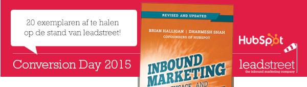 Onze tips voor Conversion Day 2015: sprekers + 60 gratis topboeken te winnen